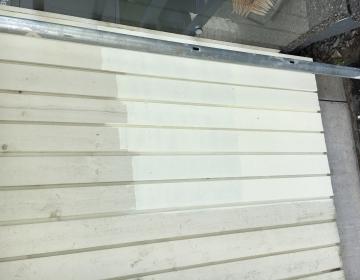 Kortermaja fassaadi puhastus ja värvimine