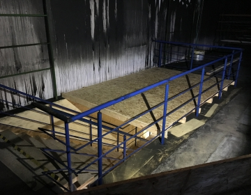 Esimesele korrusele mineva trepiava sulgemine tööde ajaks